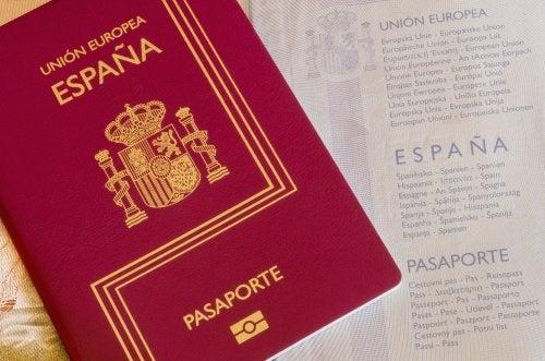 Pasaporte nacionalidad española.
