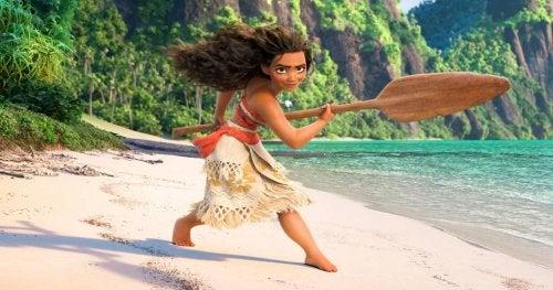Vaiana, una de las princesas Disney en las que se ve una enorme evolución.