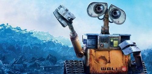 Wall-e, una de las mejores películas infantiles sobre ecología.