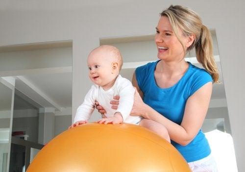 Fisioterapia para los cólicos del lactante