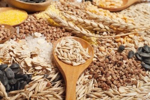 Cereales no aptos para la intolerancia al gluten.