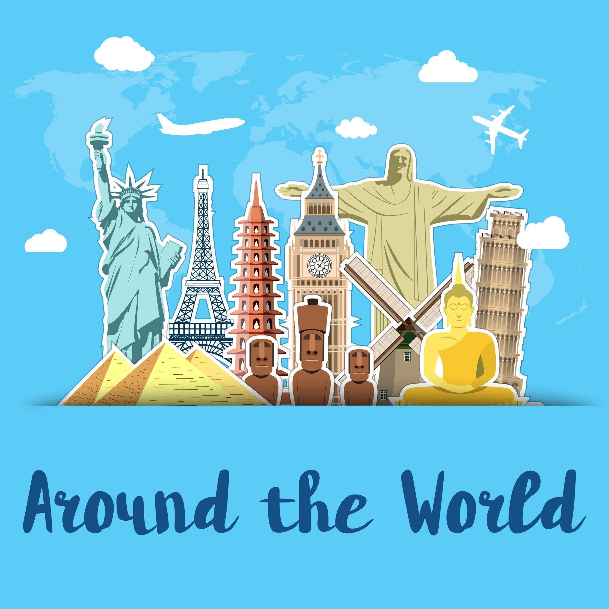 Monumentos de todo el mundo.