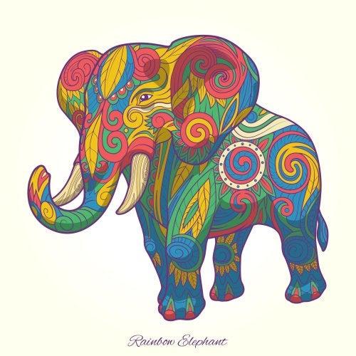 Elmer, el elefante de colores más querido por los pequeños de la casa.