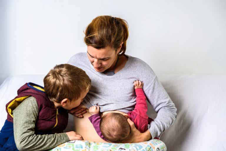 Lactancia materna en tándem