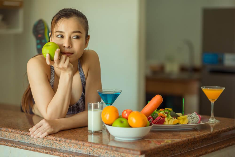 Alimentos durante la menstruación