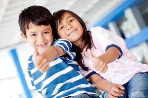 Fomentar el optimismo para educar niños capaces