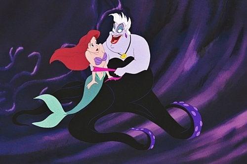 Úrsula, la villana de la película La Sirenita.