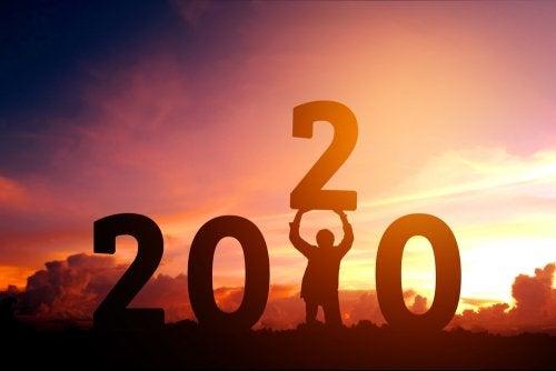 Año nuevo, nuevas metas y propósitos.