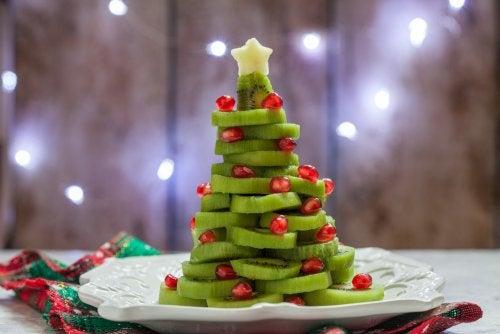 Árbol de Navidad hecho con wiki.