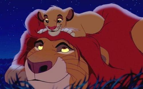 El Rey León es una de las películas para trabajar la pérdida y el duelo con los niños.