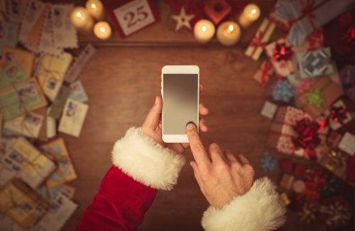 4 Apps para hablar con Papá Noel y los Reyes Magos