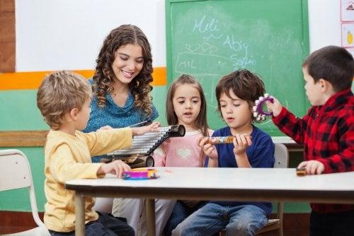 La musicoterapia para mejorar el rendimiento escolar
