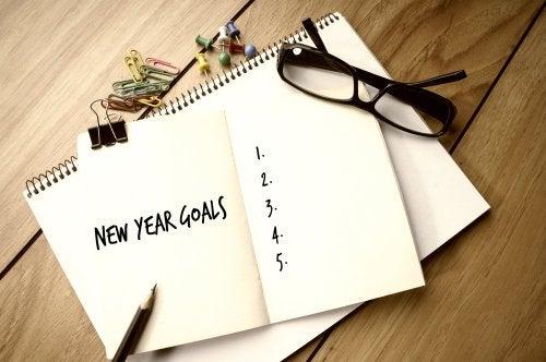 Propósitos de año nuevo.