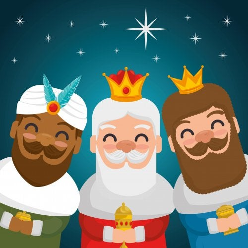 Los Reyes Magos llegan a la literatura infantil
