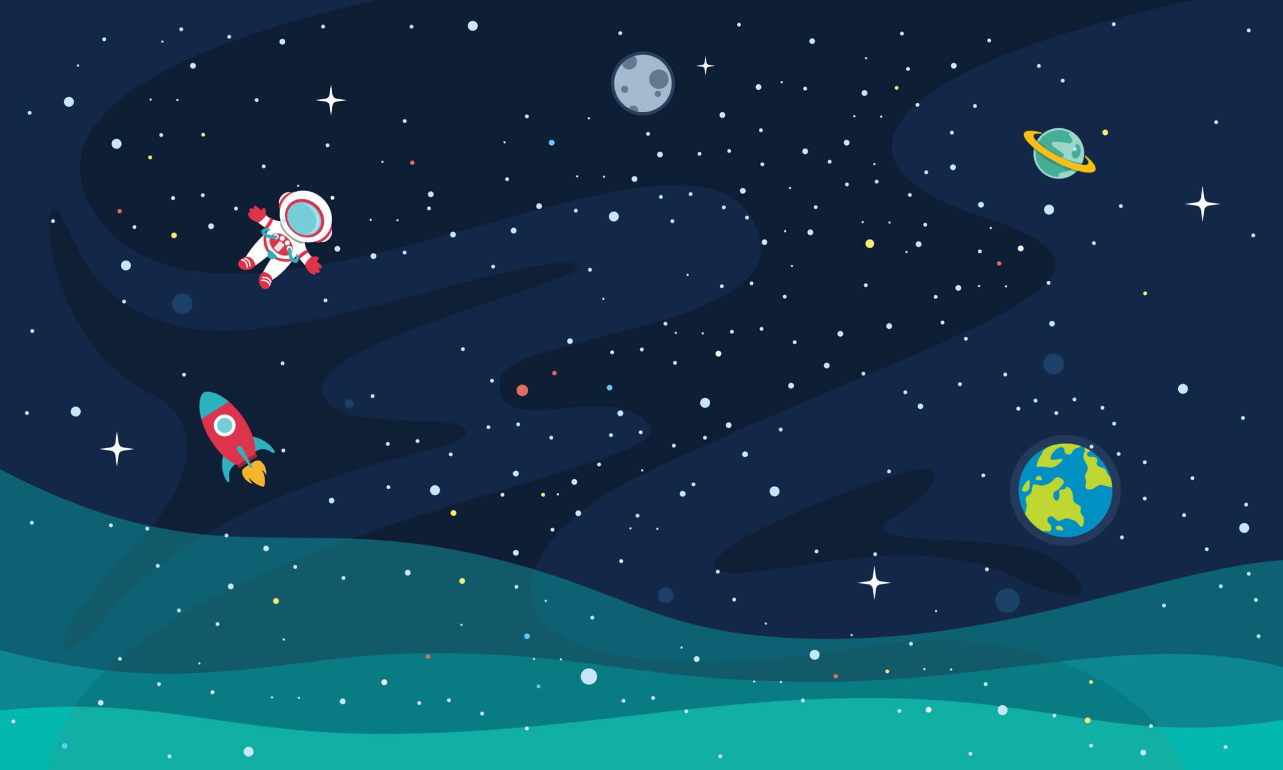 Libros infantiles sobre el espacio