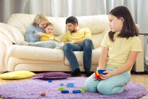 El cerebro de los niños cuando sienten celos