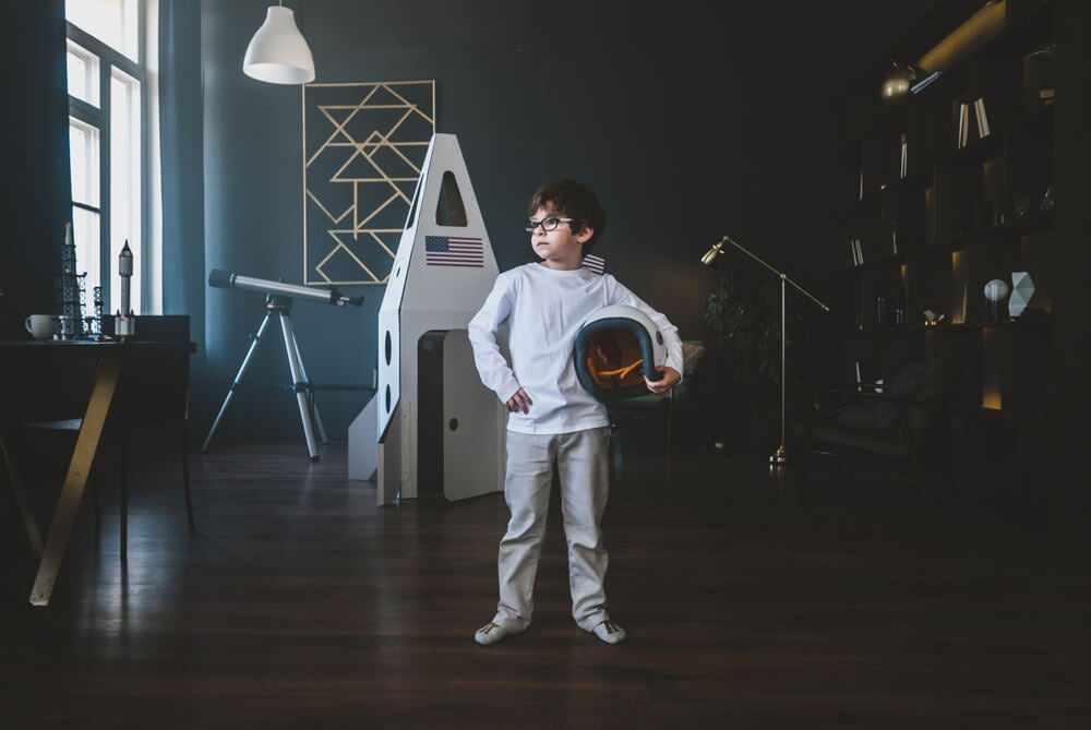 Libros infantiles para pequeños astronautas