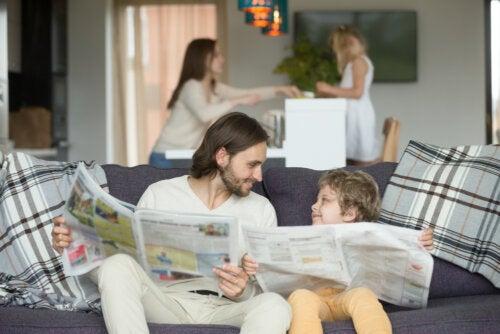 Cómo educar a los niños con el ejemplo