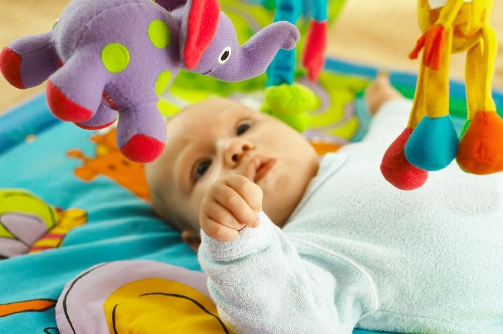 6 ejercicios para el desarrollo del bebé de 4 a 6 meses
