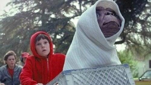 E.T. el extraterrestre, una de las películas de los 80 y 90 más reconocidas.