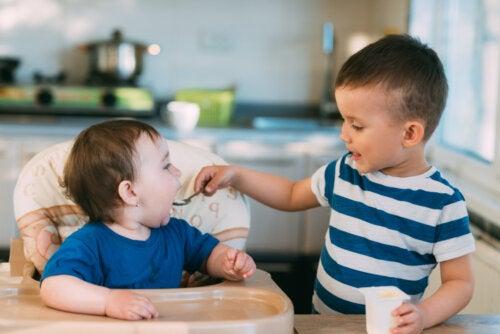 El apego entre hermanos