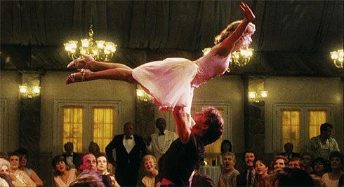 Escena de la película Dirty Dancing.