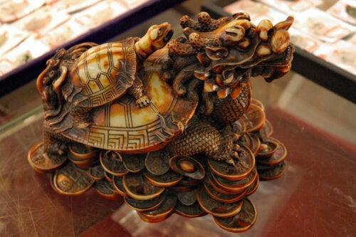 Juego de la tortuga y el dragón para trabajar la asertividad