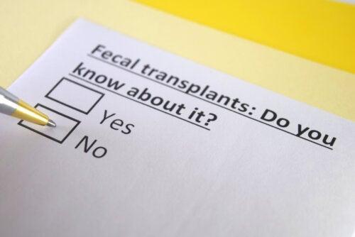 ¿Conoces el trasplante fecal?