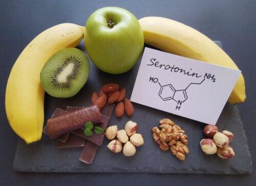 Alimentos que aumentan la serotonina.
