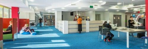 Biblioteca moderna.