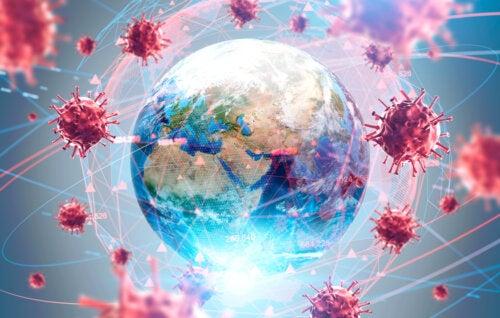 Coronavirus infección mundial.