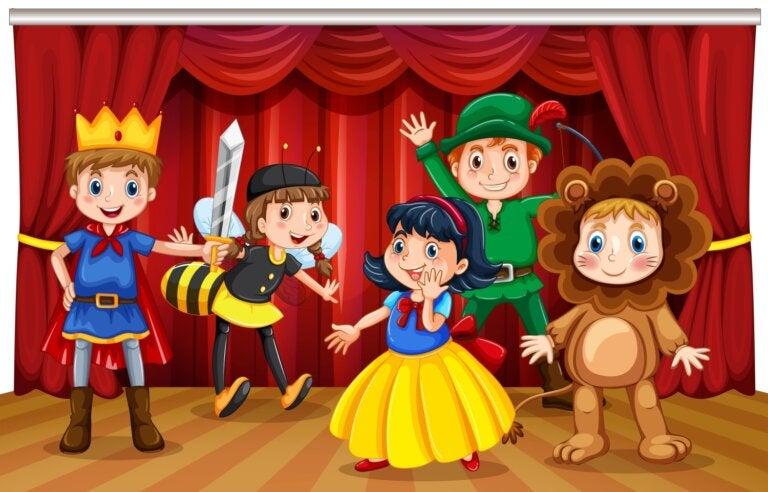 ¡Se abre el telón! Libros sobre teatro para niños