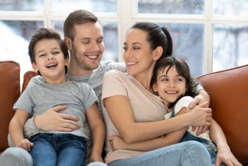 La importancia de la familia para el buen desarrollo de los niños.