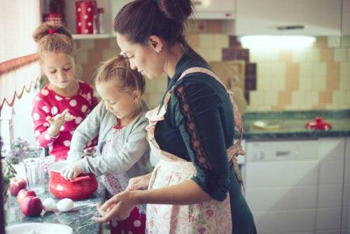 12 ideas para ser una mamá divertida
