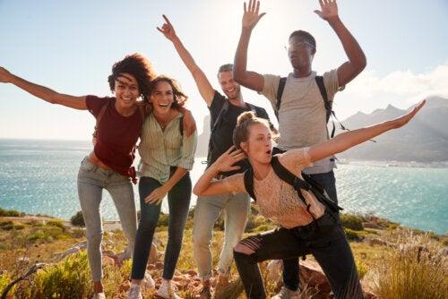 Millennials de excursión.