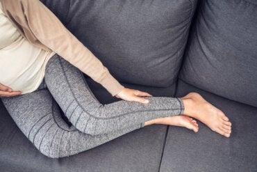 Reducir la retención de líquidos durante el embarazo
