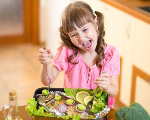 Cómo conseguir que a los niños les guste el pescado
