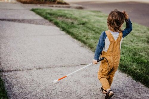 Actividades para trabajar con niños con discapacidad visual