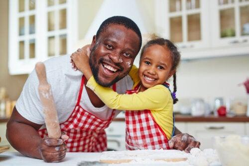 Beneficios de incluir a los niños en la cocina