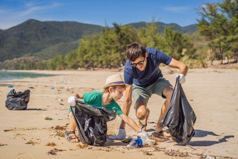 Actividades de educación medioambiental en familia