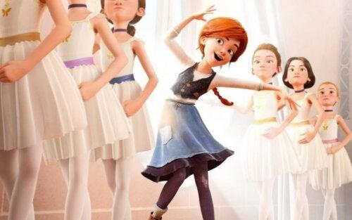 Ballerina, una de las películas para disfrutar con los niños durante la cuarentena.