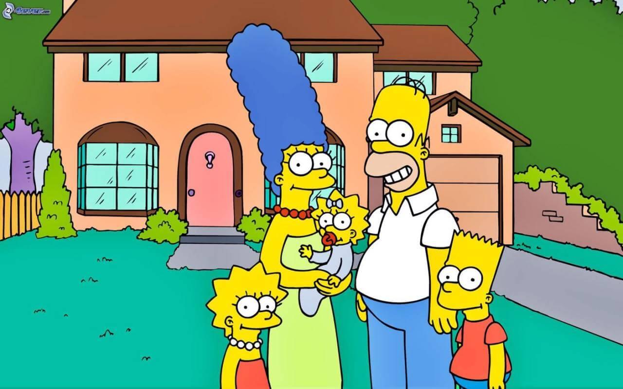 Los Simpson, una de las series de los 90 más queridas por todos.