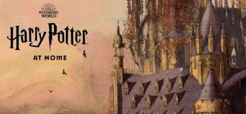 Descubre la web de actividades sobre Harry Potter de J.K.Rowling para esta cuarentena