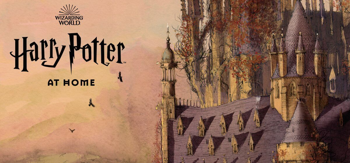 Harry Potter at home, la web de actividades sobre Harry Potter.