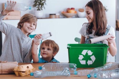 Reciclar a través del aprendizaje, actividades educativas para esta cuarentena