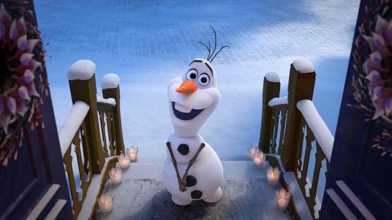 Imagen de En casa con Olaf para disfrute de los niños durante la cuarentena.