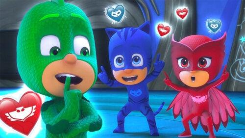 Pj Masks, otra de las series infantiles para disfrutar durante la cuarentena en las plataformas digitales.