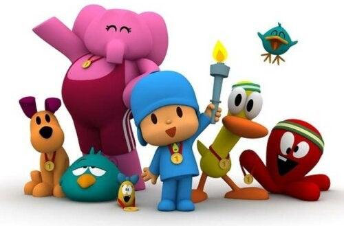 Pocoyó es una de las series infantiles que puedes disfrutar en algunas plataformas digitales.