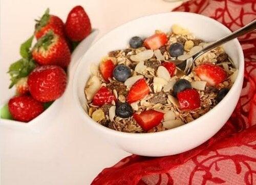 Desayunos saludables con avena para niños
