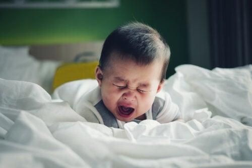 La invaginación intestinal en el bebé